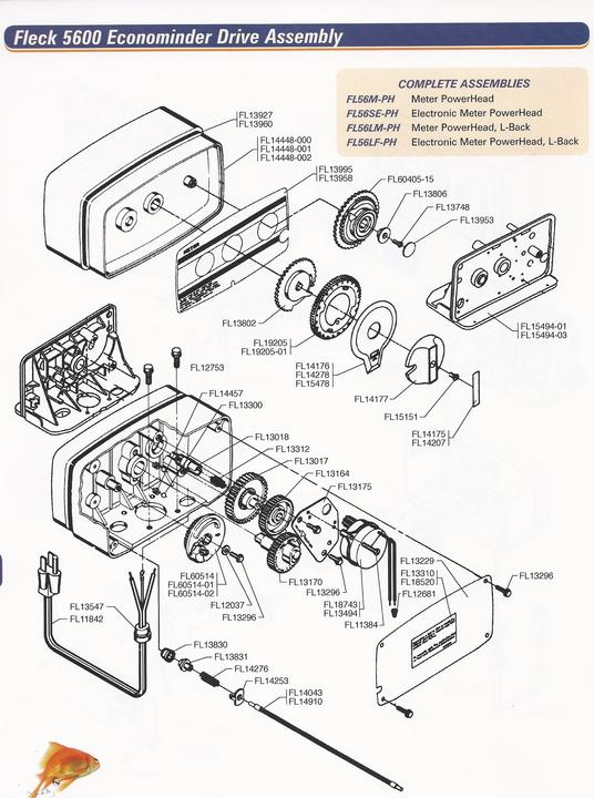 Softener Parts 623 398 4770 Phoenix Water Filters